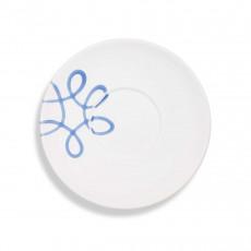 Gmundner Keramik Pur Geflammt Blau Teeuntertasse Maxima 18 cm