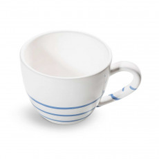 Gmundner Keramik Pur Geflammt Blau Teeobertasse Maxima 0,4 L / h: 9 cm