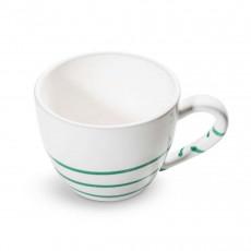 Gmundner Keramik Pur Geflammt Grün Teeobertasse Maxima 0,4 L / h: 9 cm