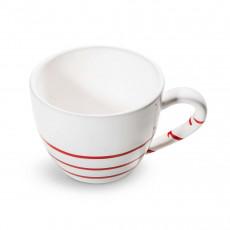 Gmundner Keramik Pur Geflammt Rot Teeobertasse Maxima 0,4 L / h: 9 cm