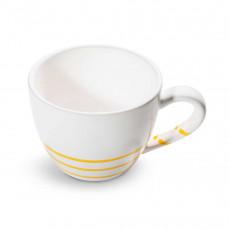 Gmundner Keramik Pur Geflammt Gelb Teeobertasse Maxima 0,4 L / h: 9 cm