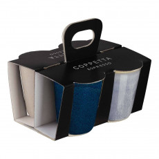 ASA Coppetta Espressobecher Set 4-tlg. 0,10 L / h: 7 cm
