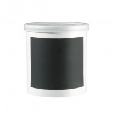 ASA Memo Black Vorratsdose für Kreidebeschriftung d: 13,5 cm / h: 14 cm