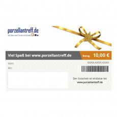 Geschenkgutscheine Gutschein über 10 Euro