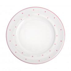 Gmundner Keramik Herzerl Rosa Dessertteller Gourmet 22 cm