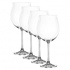 Nachtmann Vivendi Premium - Lead Crystal Burgunder Pokal Glas Set 4-tlg. 897 ml / h: 251 mm
