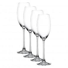 Nachtmann Vivendi Premium - Lead Crystal Champagnerkelch Glas Set 4-tlg. 272 ml