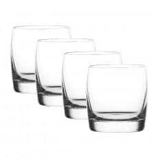 Nachtmann Vivendi Premium - Lead Crystal Whiskybecher Glas Set 4-tlg. 315 ml / h: 86 mm