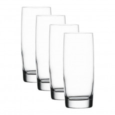 Nachtmann Vivendi Premium - Lead Crystal Longdrink Glas Set 4-tlg. 413 ml / h: 158 mm