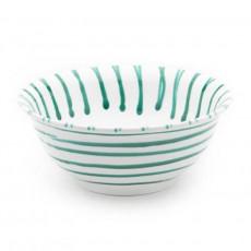Gmundner Keramik Grüngeflammt Salatschüssel d: 20 cm / 0,5 L