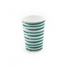 Gmundner Keramik Grüngeflammt Trinkbecher 0,28 L / h: 11 cm