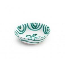 Gmundner Keramik Grüngeflammt Müslischale klein d: 14 cm / h: 4,5 cm / 0,27 L
