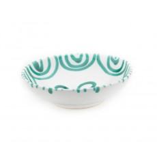 Gmundner Keramik Grüngeflammt Schale groß d: 17 cm / h: 4,8 cm / 0,2 L