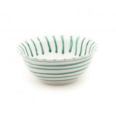 Gmundner Keramik Grüngeflammt Salatschüssel d: 26 cm / 2,0 L