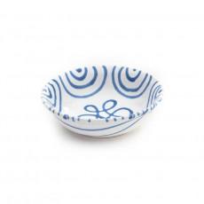 Gmundner Keramik Blaugeflammt Müslischale klein d: 14 cm / h: 4,5 cm / 0,27 L