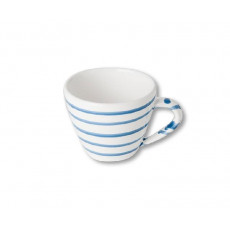 Gmundner Keramik Blaugeflammt Cappuccino-Obertasse 0,16 L / h: 6,8 cm