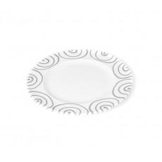 Gmundner Keramik Graugeflammt Dessertteller / Frühstücksteller Gourmet d: 18 cm / h: 1,8 cm