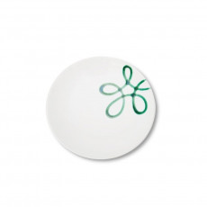 Gmundner Keramik Pur Geflammt Grün Kaffee-/Tee-Untertasse Cup d: 15 cm / h: 2,5 cm