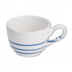 Gmundner Keramik Pur Geflammt Blau Kaffee-Obertasse glatt 0,19 L / h: 6,6 cm