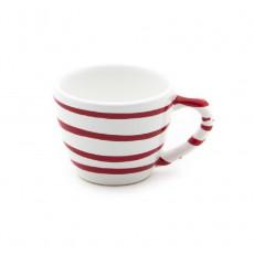 Gmundner Keramik Rotgeflammt Mokka-/Espresso-Obertasse Gourmet 0,06 L / h: 5,1 cm