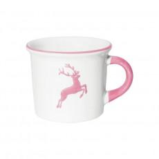 Gmundner Keramik Rosa Hirsch Kaffee Häferl glatt 0,24 L