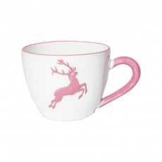 Gmundner Keramik Rosa Hirsch Tee-Obertasse Maxima 0,4 L