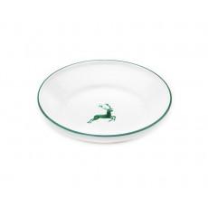 Gmundner Keramik Grüner Hirsch Reifschüssel ohne Henkel d: 28 cm / h: 6,6 cm