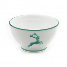 Gmundner Keramik Grüner Hirsch Müslischale groß d: 14 cm / h: 7,8 cm / 0,4