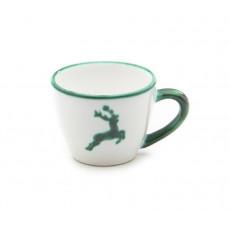 Gmundner Keramik Grüner Hirsch Mokka-/Espresso-Obertasse Gourmet 0,06 L / h: 5,1 cm