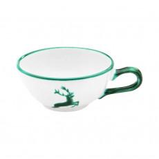 Gmundner Keramik Grüner Hirsch Tee-Obertasse glatt 0,17 L