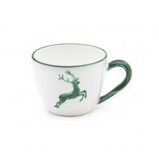 Gmundner Keramik Grüner Hirsch Tee-Obertasse Maxima 0,4 L