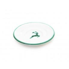 Gmundner Keramik Grüner Hirsch Mokka-/Espresso-Untertasse Gourmet d: 11 cm