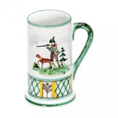 Gmundner Keramik Jagd Bierkrug Form-A klein 0,3 L