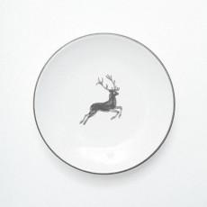 Gmundner Keramik Grauer Hirsch Kaffee-/Tee-Untertasse Cup d: 15 cm / h: 2,5 cm