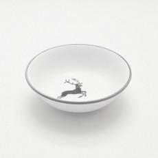Gmundner Keramik Grauer Hirsch Müslischale klein d: 14 cm / h: 4,5 cm / 0,27 L