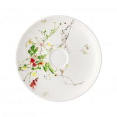 Rosenthal Brillance Fleurs Sauvages Kombi-Untertasse Coup 15,5 cm