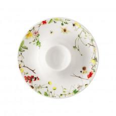 Rosenthal Brillance Fleurs Sauvages Eierbecher mit Ablage 11 cm