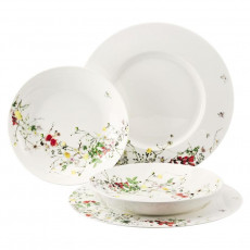 Rosenthal Brillance Fleurs Sauvages Speise-Set für 2 Personen 4-tlg.
