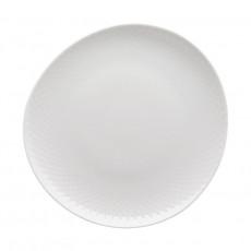 Rosenthal Junto Weiß - Porzellan Teller flach 22 cm