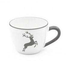 Gmundner Keramik Grauer Hirsch Tee-Obertasse Maxima 0,4 L