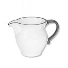 Gmundner Keramik Grauer Rand Milchgießer 0,3 L