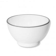 Gmundner Keramik Grauer Rand Müslischale groß 14 cm