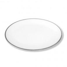 Gmundner Keramik Grauer Rand Platte oval 28x21 cm