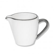 Gmundner Keramik Grauer Rand Milchgießer Gourmet 0,2 L