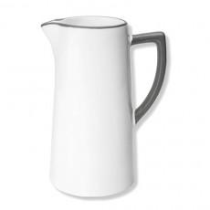 Gmundner Keramik Grauer Rand Wasserkrug 1,2 L