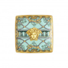 Rosenthal Versace La Scala del Palazzo - Verde Schälchen quadratisch flach 12 cm