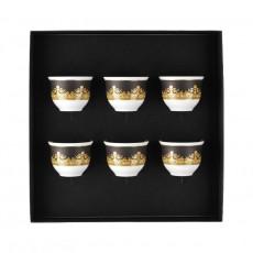 Rosenthal Versace I love Baroque Becher klein ohne Henkel 0,08 L Set 6-tlg.