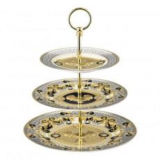 Rosenthal Versace Prestige Gala Etagere 3-tlg. 18-22-27 cm