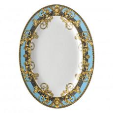 Rosenthal Versace Prestige Gala Le Bleu Platte 34 x 24,5 cm