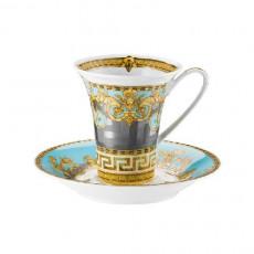 Rosenthal Versace Prestige Gala Le Bleu Kaffeetasse 0,18 L 2-tlg.